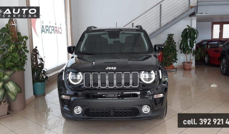 Jeep Renegade My21 1.0 turbo 120 Cv Gpl Limited Con Black Line Pack km0 pieno